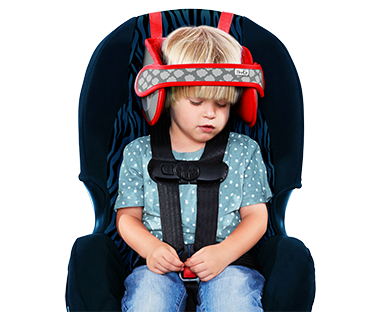 The Product Is Comprised Of 2 Parts Cushioned Headrest And Head Strap As Connected To By Vecroit Can Be Easily